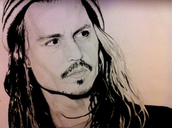 Johnny Depp por Ikigami